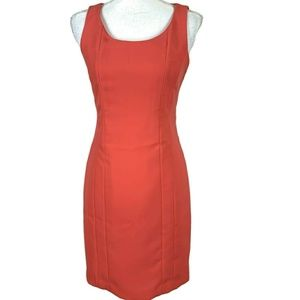 NWOT! Orange Halogen Sheath Size 2 Casual Dress
